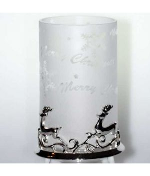 Yankee Candle Dekoration Reindeer Samplerglas matt