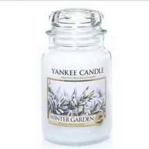 Yankee Candle Winter Garden Seasonal Housewarmer Kerzen im Glas