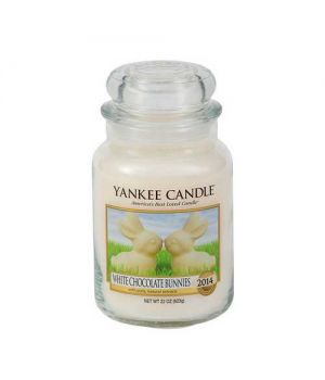 Yankee Candle White Chocolate Bunnies Housewarmer im Glas 623gramm