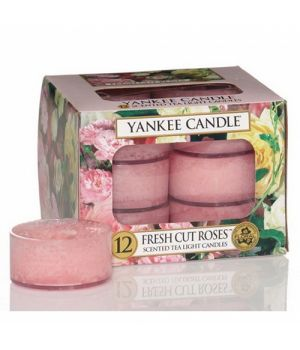 Yankee Candle Teelichter Fresh Cut Roses