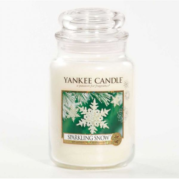 yankee candle sparkling snow duftkerzen. Black Bedroom Furniture Sets. Home Design Ideas