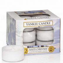 Yankee Candle White Christmas Tea Lights Aktion