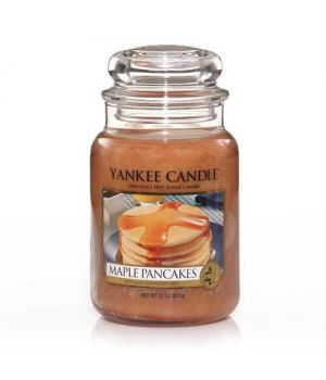 Yankee Candle Pancakes Glas gross