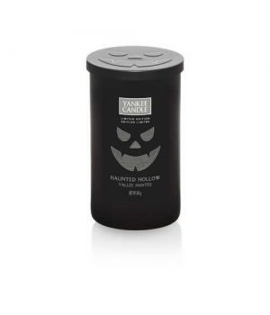 Yankee Candle Halloween Haunted Hollow Pillar medium