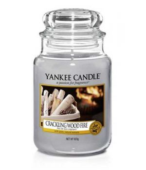 Yankee Candle Crackling Wood Fire Housewarmer 623gramm