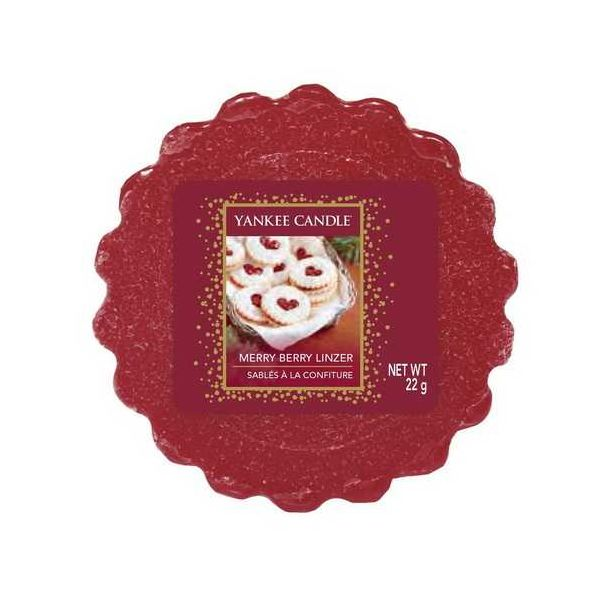 349-2327Yankee Candle Merry Berry Linzer