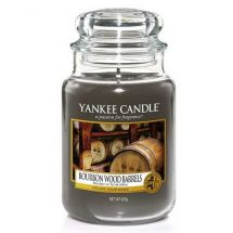 Yankee Candle Bourbon Wood Barrels
