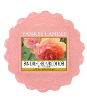 Yankee Candle Sun Drenched Apricot Rose Wax Melt Tarts