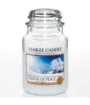 Season of Peace Yankee Candle Housewarmer Glas gross