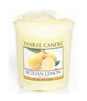 Yankee Candle SAmpler Sicilian Lemon