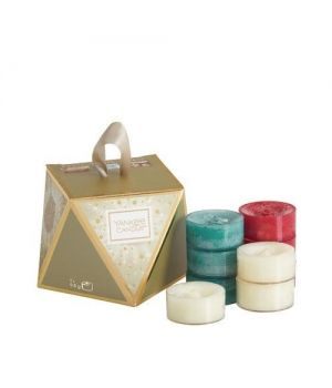 Yankee Candle Holiday Sparkle Tea Lights Geschenkset