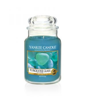 Yankee Candle Turquoise Glass limited