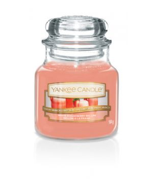 Yankee Candle White Strawberry Bellini klein