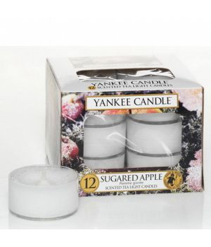 Sugared Apple Tealights Yankee Candle