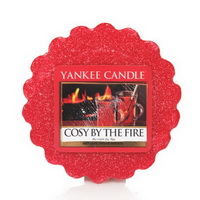 YAnkee Candle cosy by the fire tart