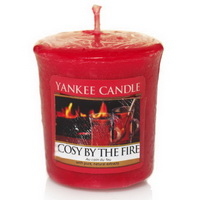 YAnkee Candle cosy by the fire sampler Kerzen