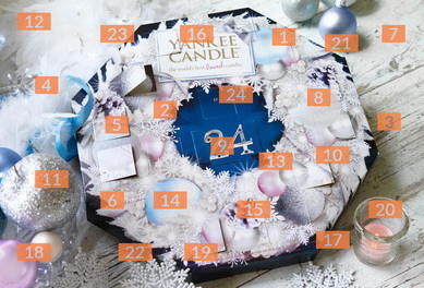 Adventskalender Yankee Candle Shop
