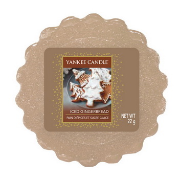 Yankee Candle Iced Gingerbread Tart Wachs